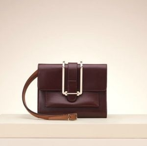 NWT Chloe Burgundy Bronte Bag